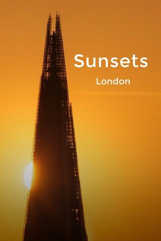 Sunsets London