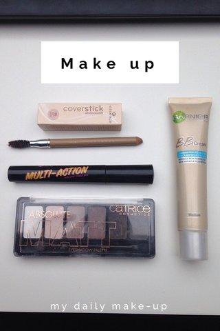 Make up my daily make-up
