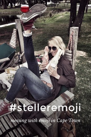 #stelleremoji messing with emoji in Cape Town