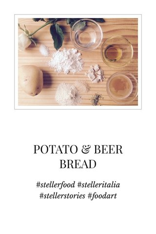 POTATO & BEER BREAD