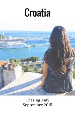 Croatia Chasing Amy September 2015