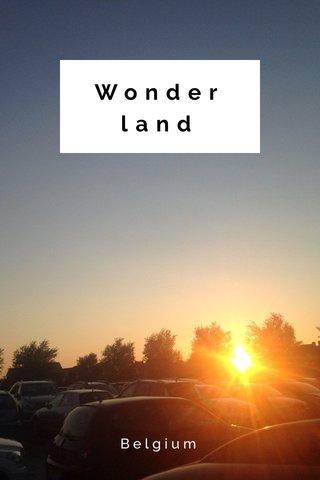 Wonderland Belgium