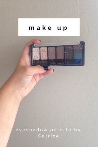 make up eyeshadow palette by Catrice