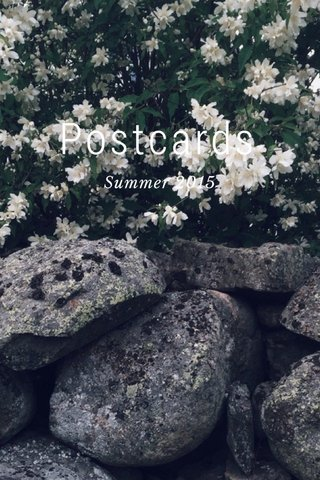 Postcards Summer 2015