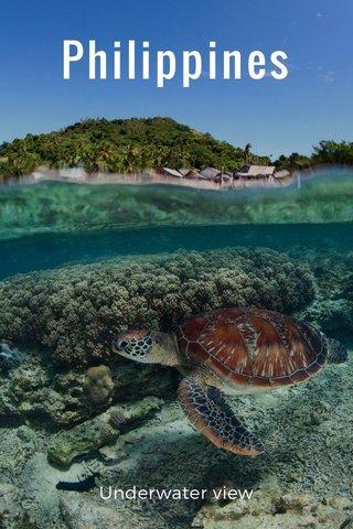 Philippines Underwater view