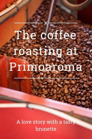 The coffee roasting at Primoaroma A love story with a tasty brunette