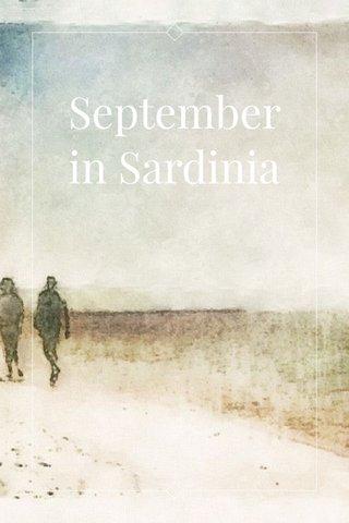 September in Sardinia