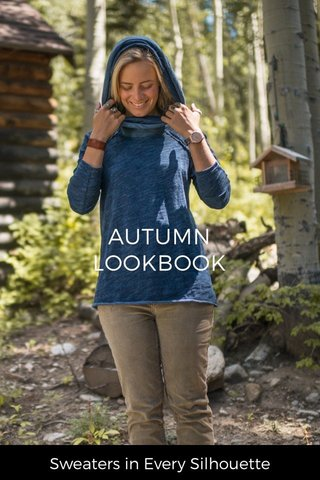 AUTUMN LOOKBOOK Sweaters in Every Silhouette