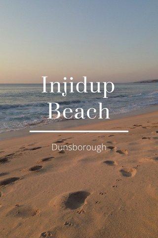 Injidup Beach Dunsborough