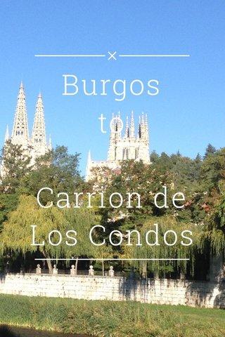 Burgos to Carrion de Los Condos