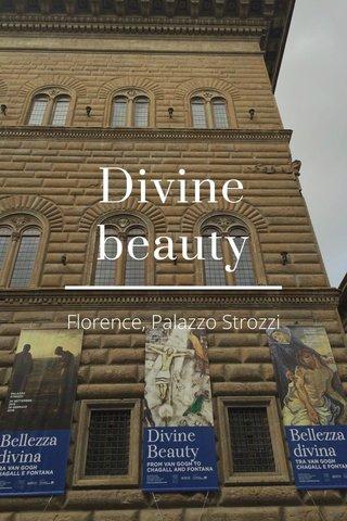 Divine beauty Florence, Palazzo Strozzi