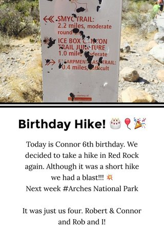 Birthday Hike! 🎂🎈🎉