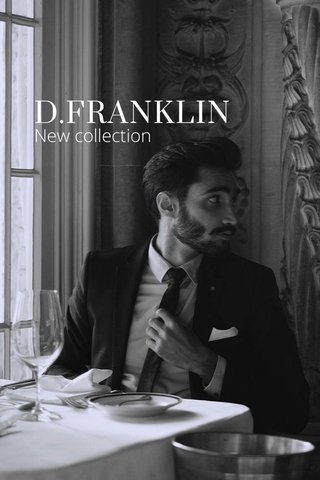 D.FRANKLIN New collection