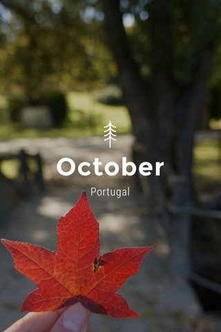 October Portugal