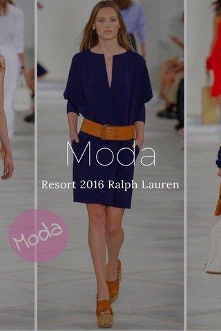 Moda Resort 2016 Ralph Lauren