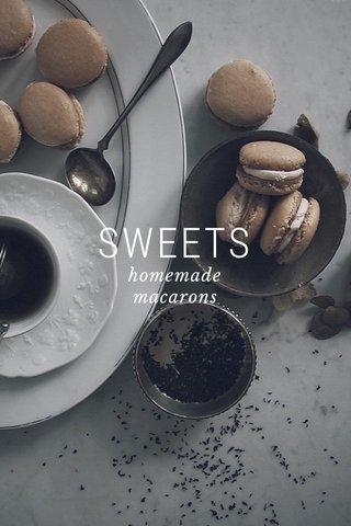 SWEETS homemade macarons