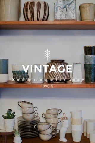 VINTAGE Copenhagen shopping tip for vintage lovers