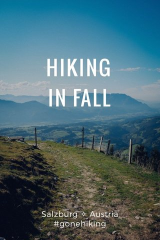 HIKING IN FALL Salzburg ✧ Austria #gonehiking