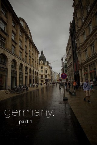 germany. part 1
