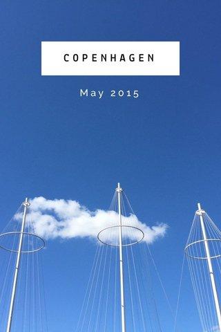 COPENHAGEN May 2015
