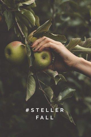 #STELLERFALL 🚶🏽