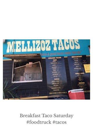 Breakfast Taco Saturday #foodtruck #tacos