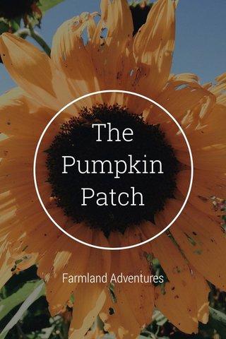 The Pumpkin Patch Farmland Adventures