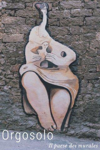 Orgosolo Il paese dei murales