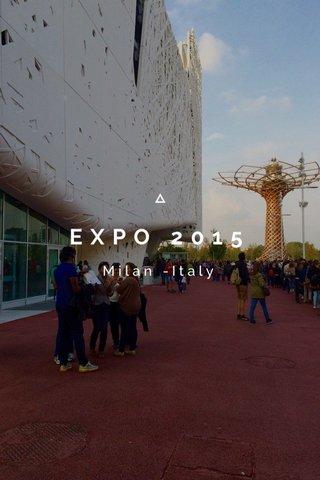 EXPO 2015 Milan -Italy