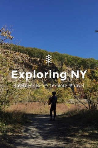 Exploring NY Breakneck Ridge #explore #travel