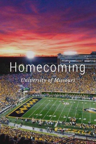 Homecoming University of Missouri