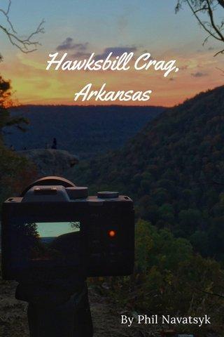 Hawksbill Crag, Arkansas By Phil Navatsyk