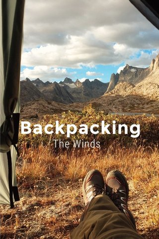 Backpacking The Winds