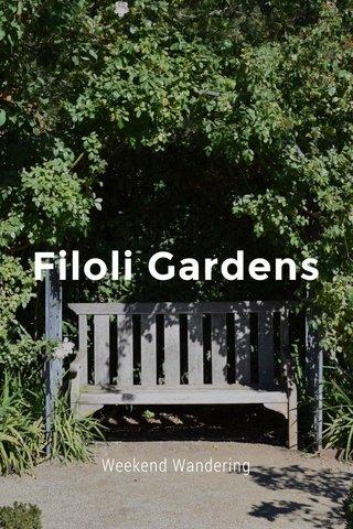 Filoli Gardens Weekend Wandering