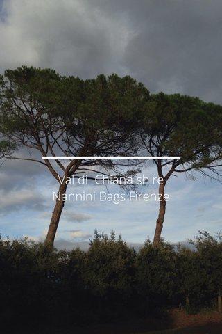 Val di Chiana shire Nannini Bags Firenze