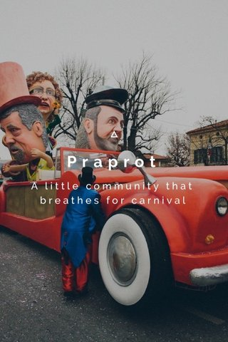 Praprot A little community that breathes for carnival