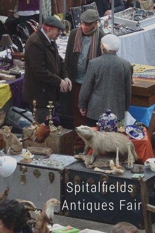 Spitalfields Antiques Fair