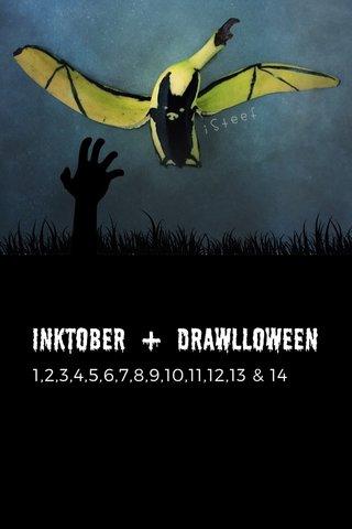 Inktober + Drawlloween