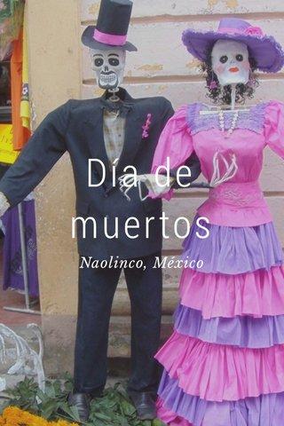 Día de muertos Naolinco, México
