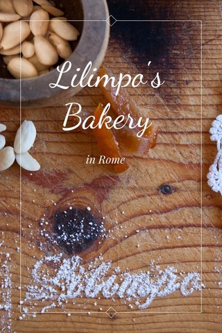 Lilimpo's Bakery in Rome