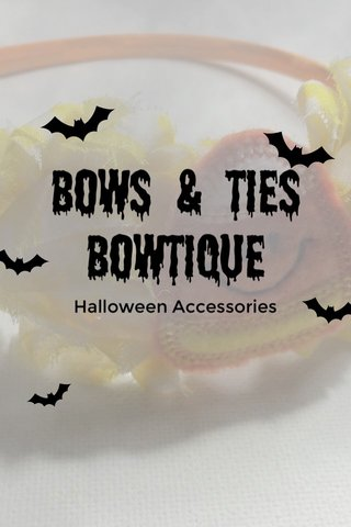 Bows & ties Bowtique Halloween Accessories