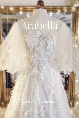 Arabella ....on the mannequin
