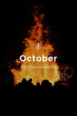 October A birthday celebration