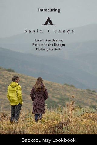 Backcountry Lookbook
