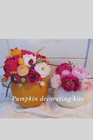 Pumpkin decorating kits
