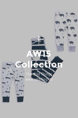 AW15 Collection The Wild Things www.odarling.co