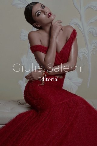 Giulia Salemi Editorial