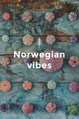 Norwegian vibes