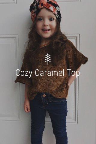 Cozy Caramel Top