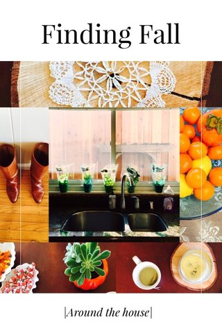 Finding Fall |Around the house|